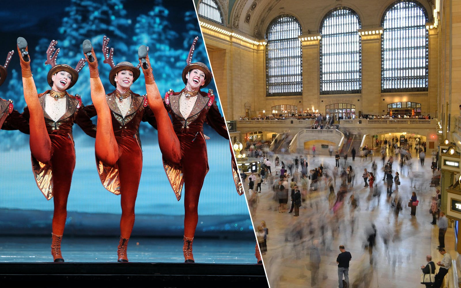 Christmas Spectacular Show & Grand Central Station Audio Tour