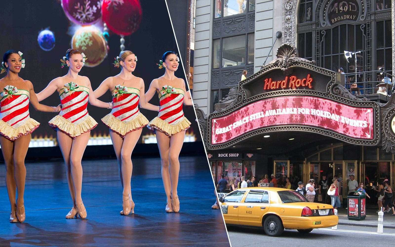 Christmas Spectacular Show & Times Square Dinner