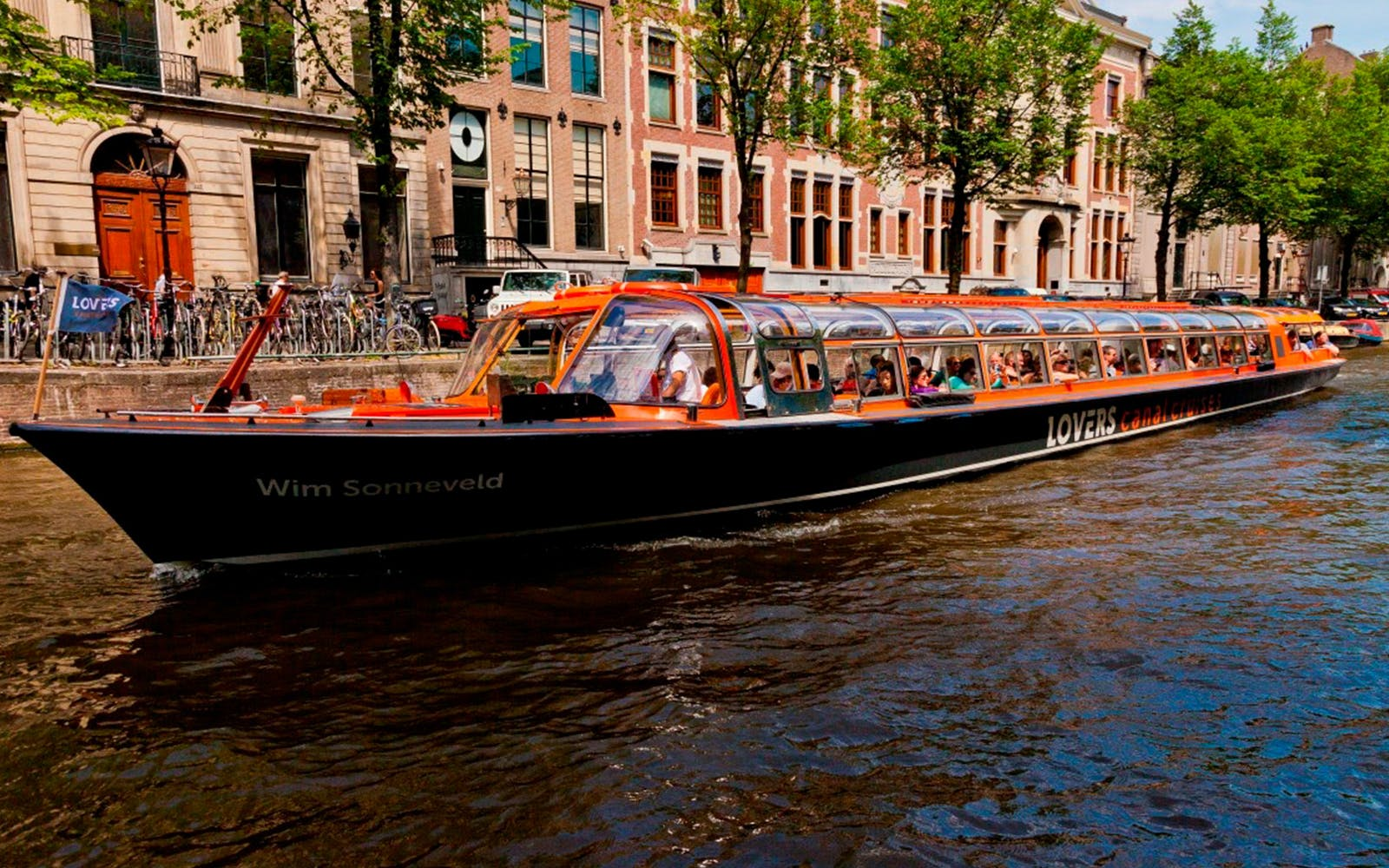 Lovers: 1 Hour Amsterdam Canal Cruise