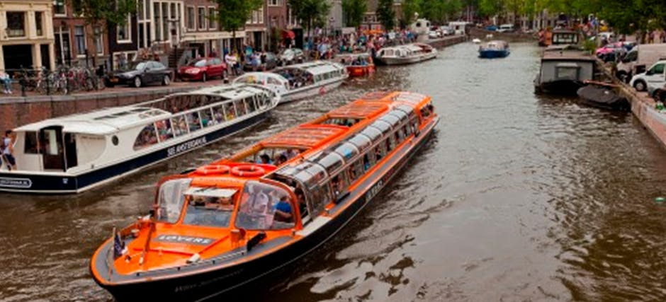 1 Hour Amsterdam Canal Cruise