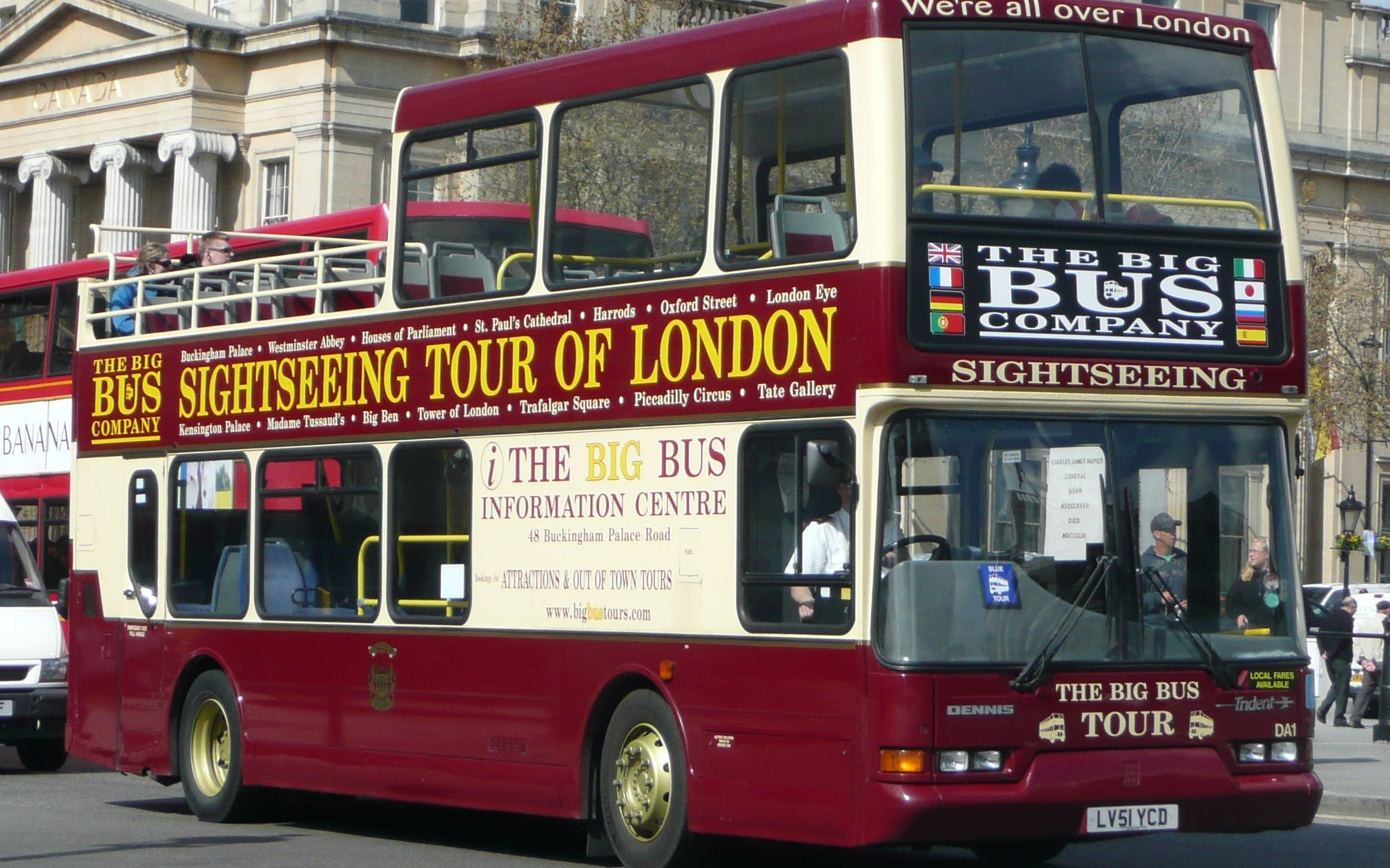 london: hop on hop off classic ticket -1