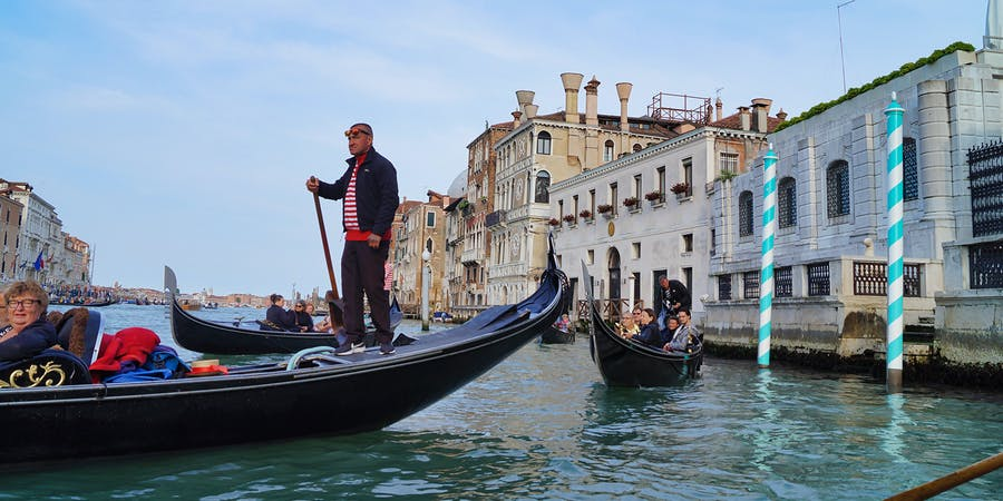 Venice in July - Gondola Ride
