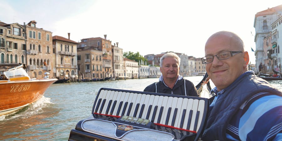 Venice in November - Gondola Ride
