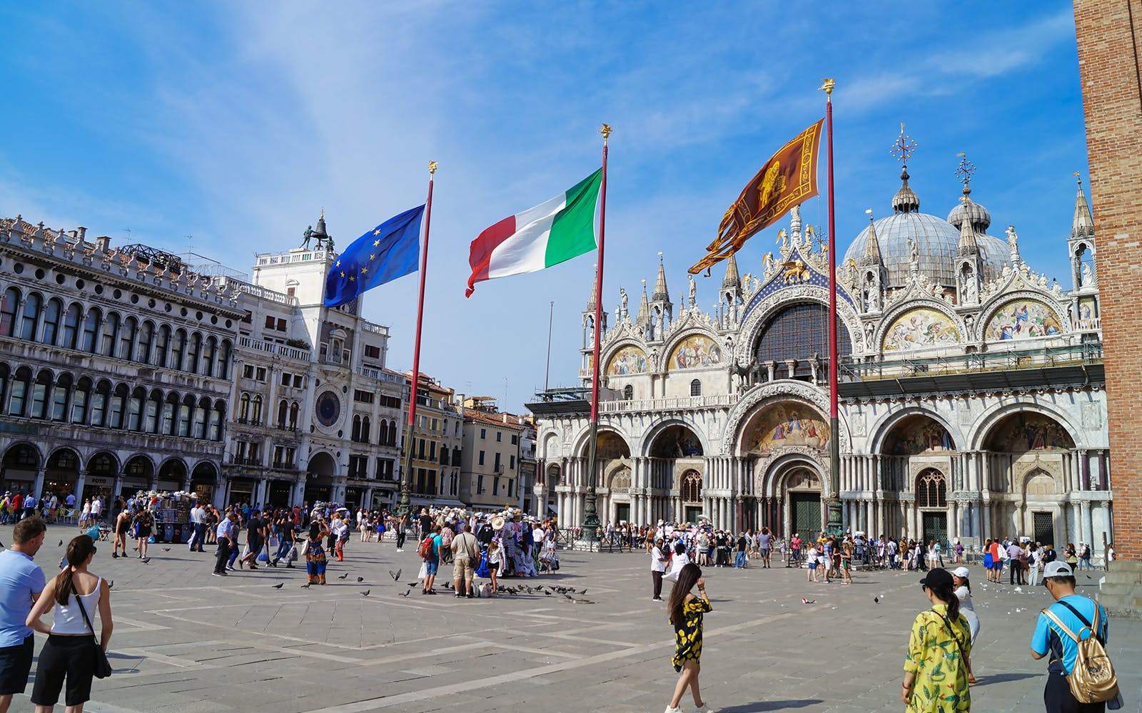 Skip the Line St. Mark's Basilica Guided Tour with Gondola Ride