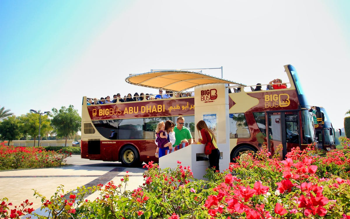 big bus abu dhabi: 1/2/5 day hop-on-hop-off sightseeing tour-1