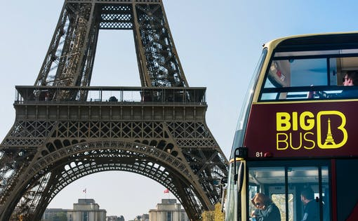 Big Bus 2 Day Hop-On Hop-Off Tour + Seine River Cruise