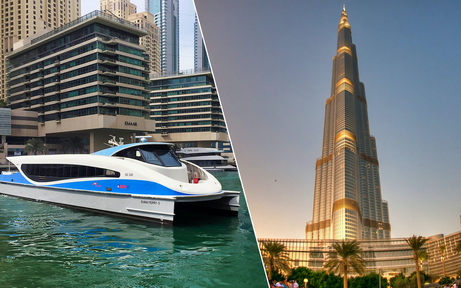 Burj Khalifa: At the Top (Flexible Entry) + Dubai Ferry