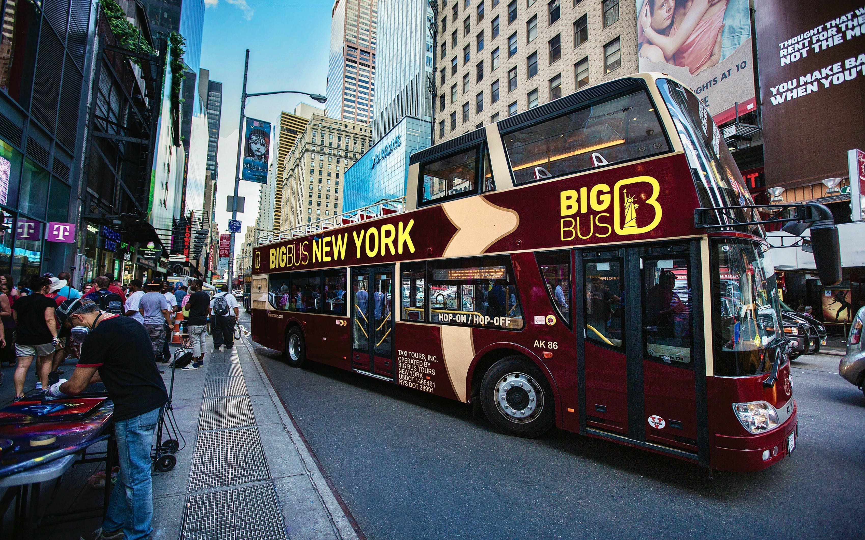 New York: Hop-On Hop-Off Classic Ticket
