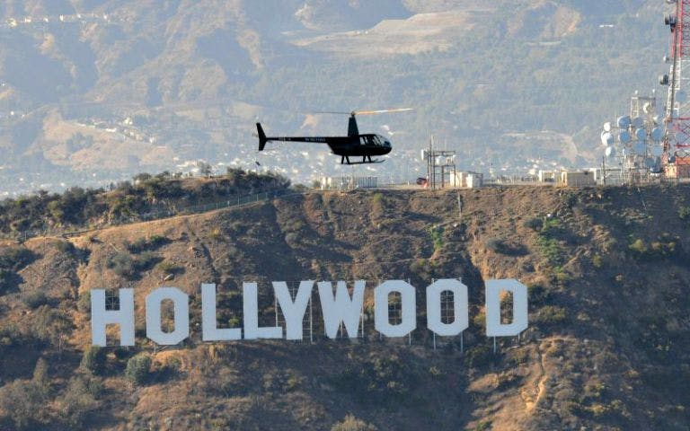 Hollywood & Celebrity Homes Helicopter Tour