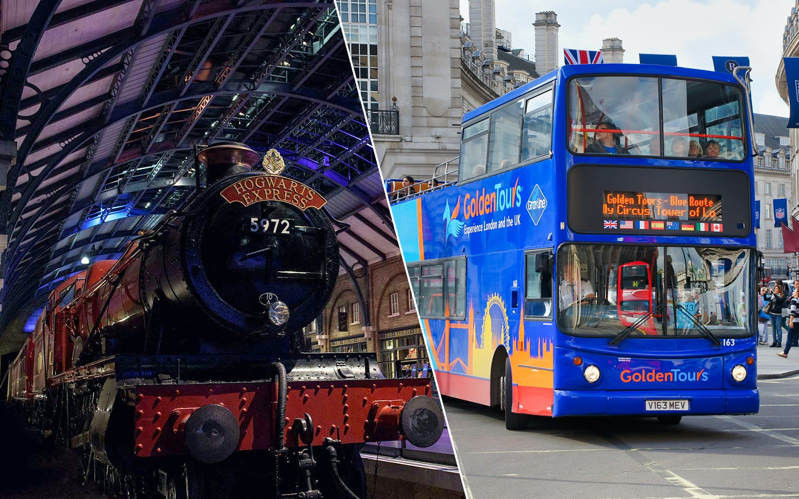 warner bros. studio tour with transfers + 4 hour hop-on hop-off london bus tour-1