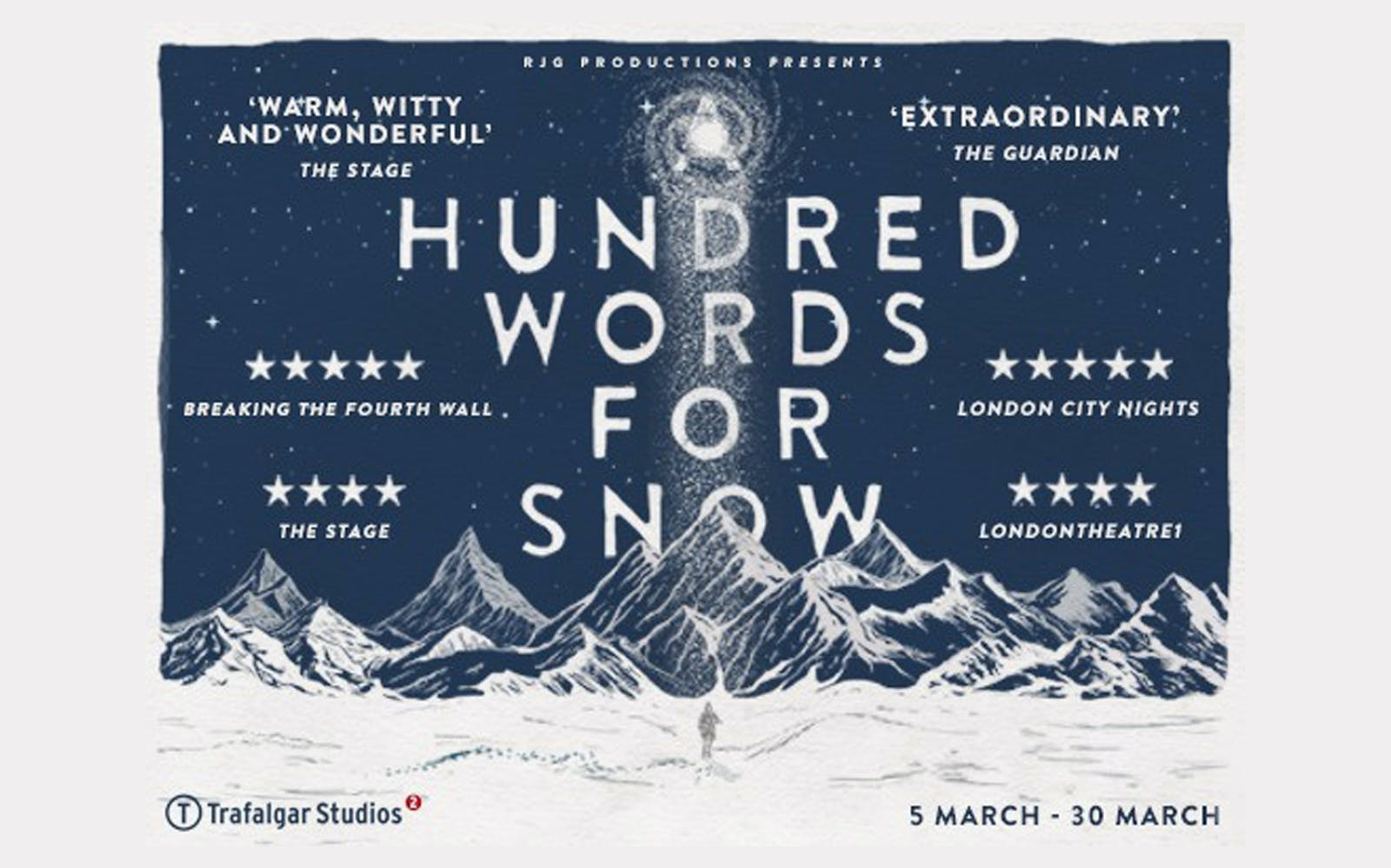 A Hundred Words for Snow west end
