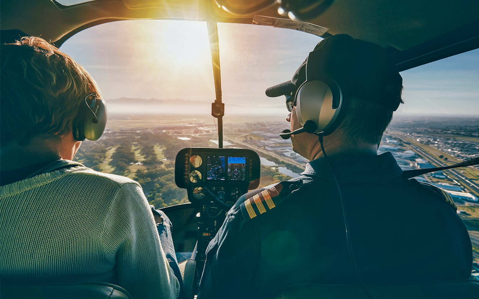 couple's private 45 minute helicopter tour - including heliport fees-2