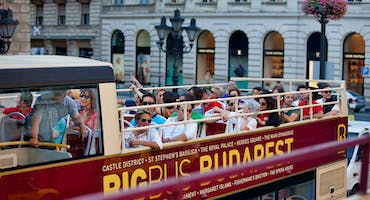 Budapest & Vienna: Hop-On Hop-Off Tour Package