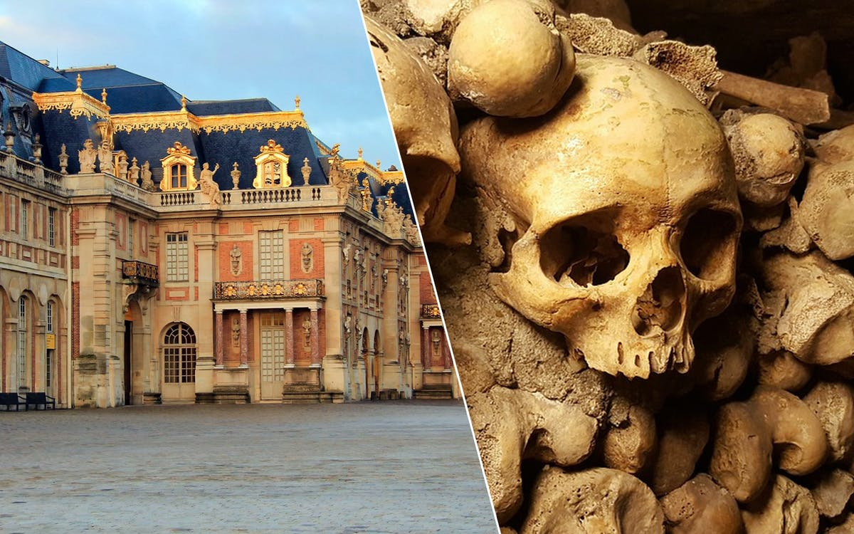 skip the line: catacombs & versailles -1