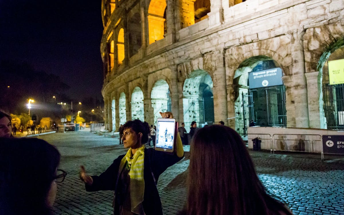 after-hours access: colosseum underground, arena floor & roman forum-7