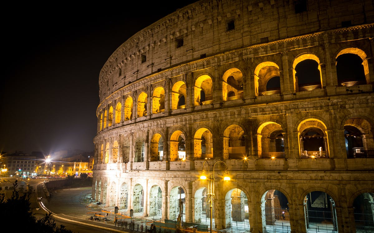 after-hours access: colosseum underground, arena floor & roman forum-2