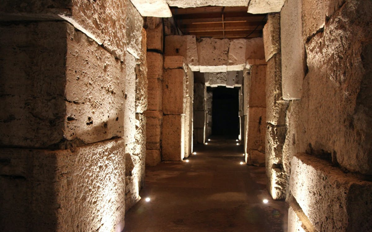 after-hours access: colosseum underground, arena floor & roman forum-5