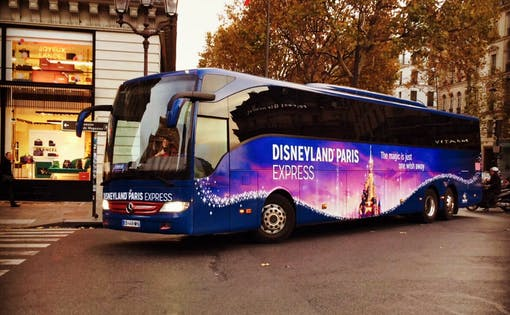 Disneyland® Paris Express Ticket and Shuttle Transport