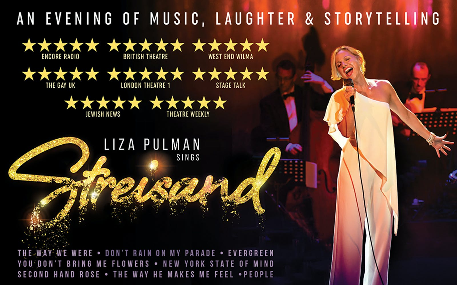Best West End Shows Liza Pulman