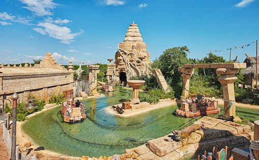 Full Day Trip PortAventura Park & Ferrari Land From Barcelona