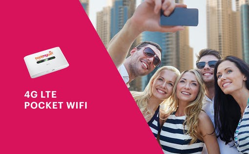 4G LTE Pocket WiFi Rental for Dubai