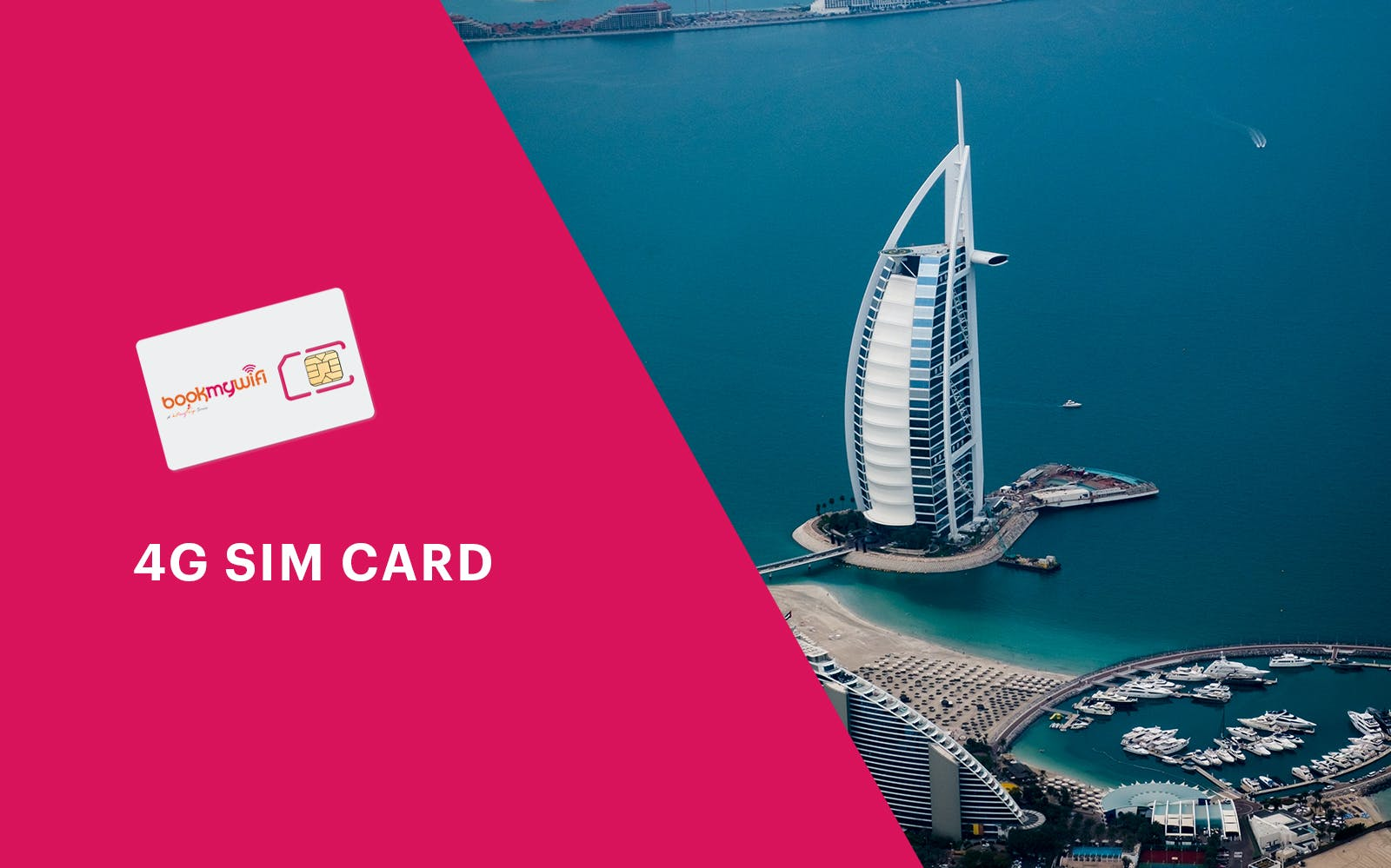 4G SIM Card (DXB Airport Pick Up) for Dubai