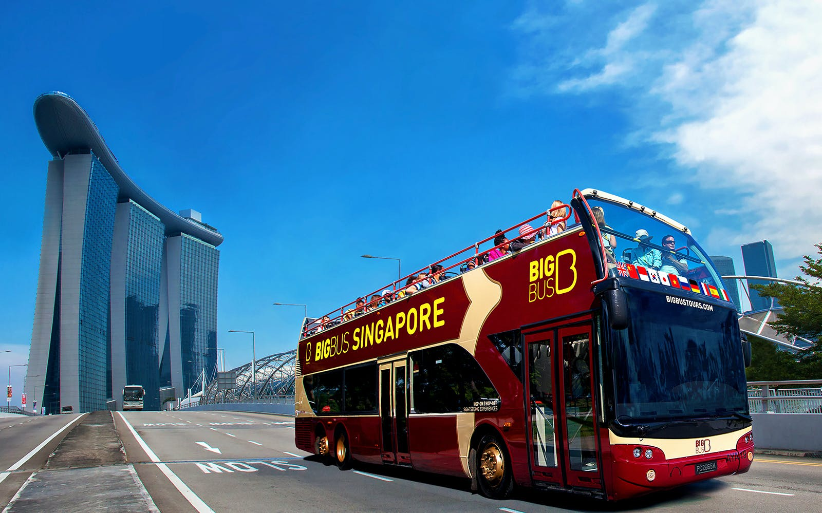 singapore: hop-on hop-off classic ticket-1