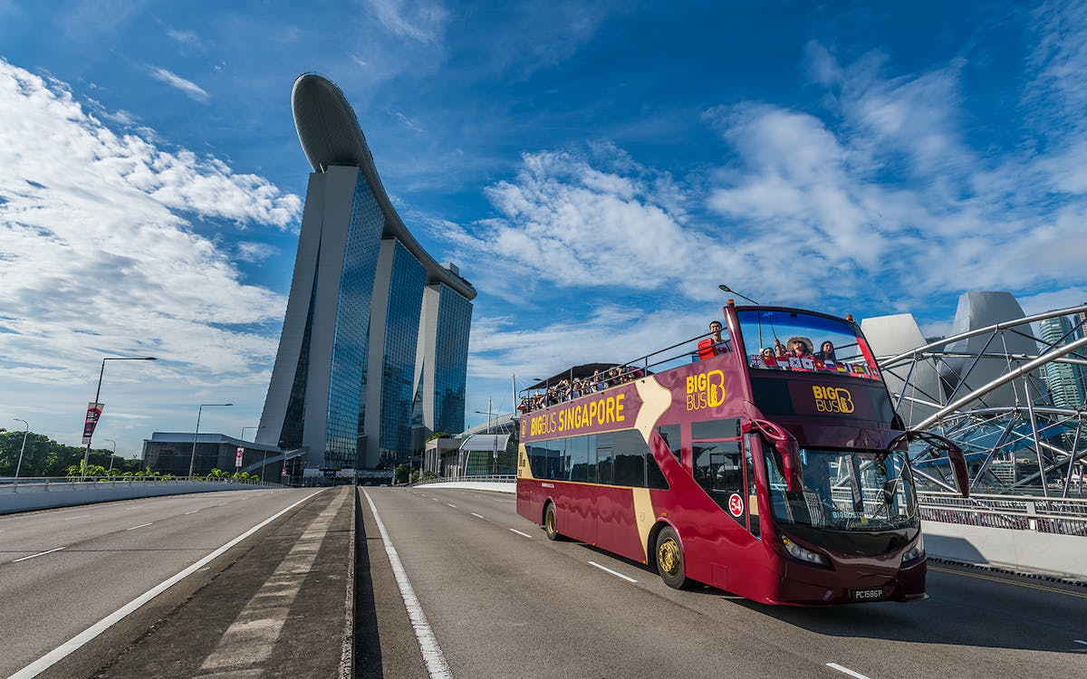 bigbus singapore: 1or 2 day hop-on-hop-off sightseeing bus-1
