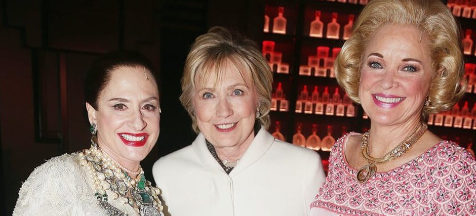 Hillary and Clinton