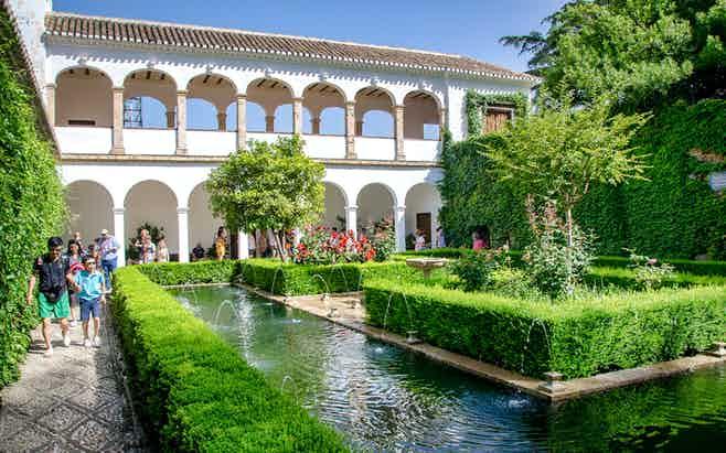 GRANADA -Generalife Alhambra