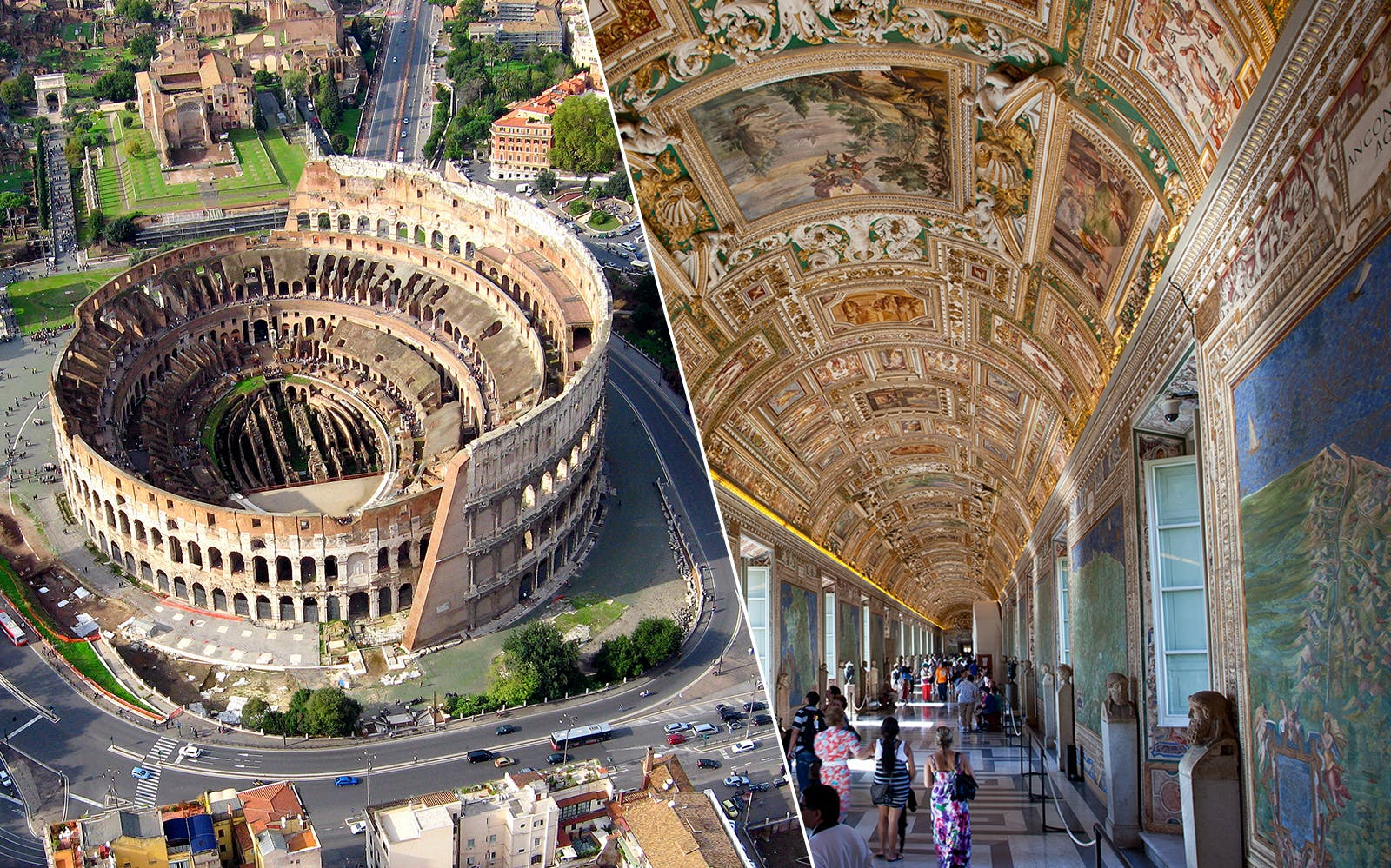vip access tickets: vatican museums & colosseum with arena floor-1