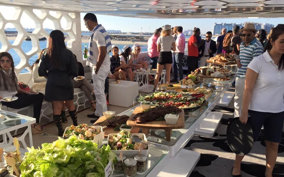 mega yacht dinner cruise by westin-2