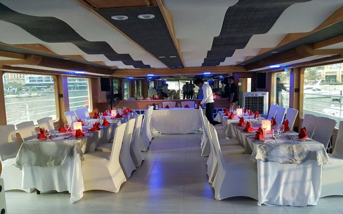 mega yacht dinner cruise by westin-5