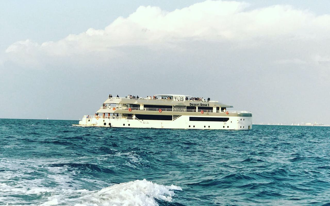 mega yacht sunset & dinner iftar cruise by westin-1