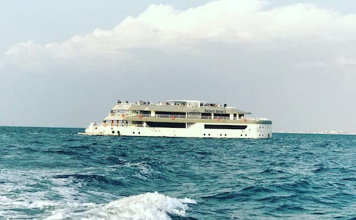 Mega Yacht Sunset & Dinner Iftar Cruise by Westin