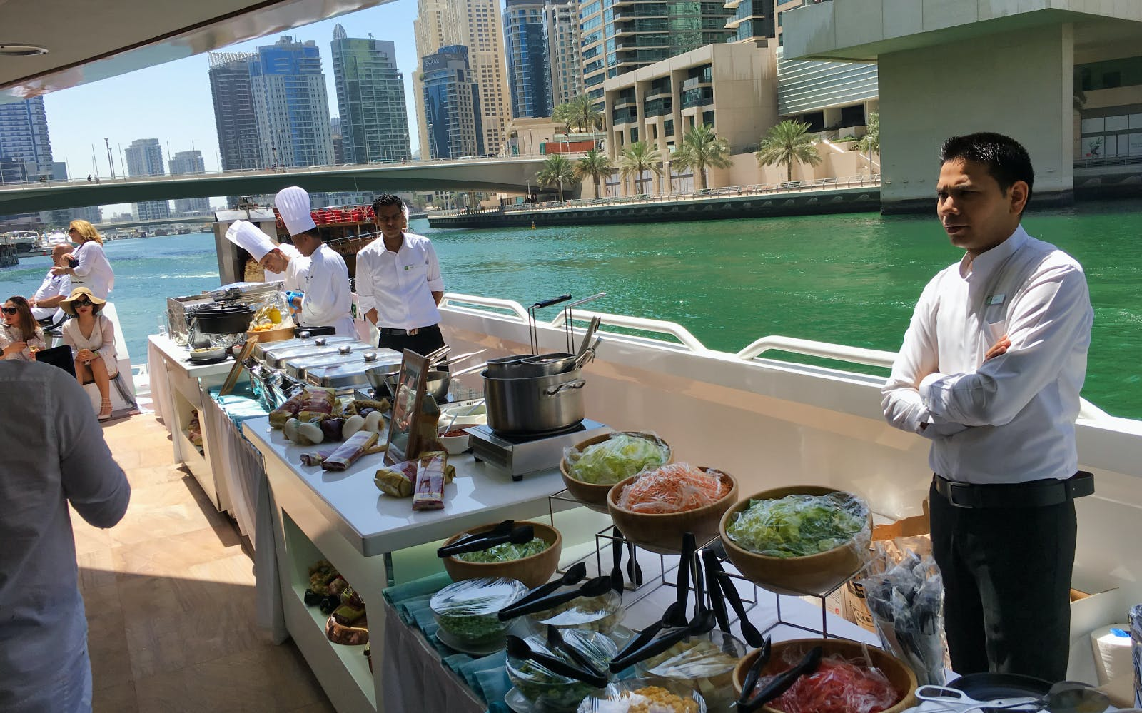 mega yacht sunset & dinner iftar cruise by westin-3