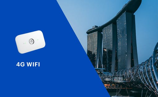 4G WiFi (SG Airport Pick Up)