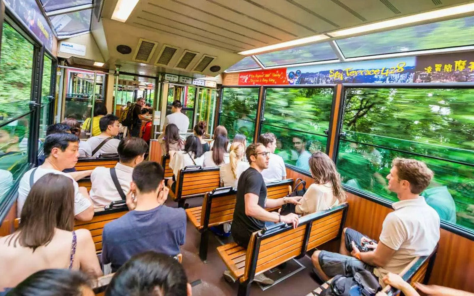 The Peak Tram Sky Pass + Sky Terrace 428 Tickets
