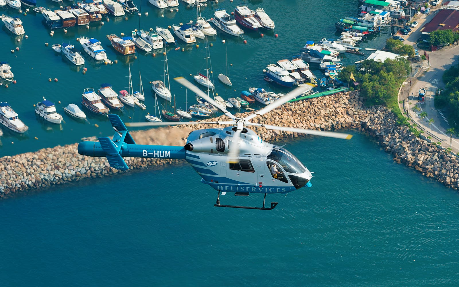 Hong Kong Helicopter Tours - 15 min