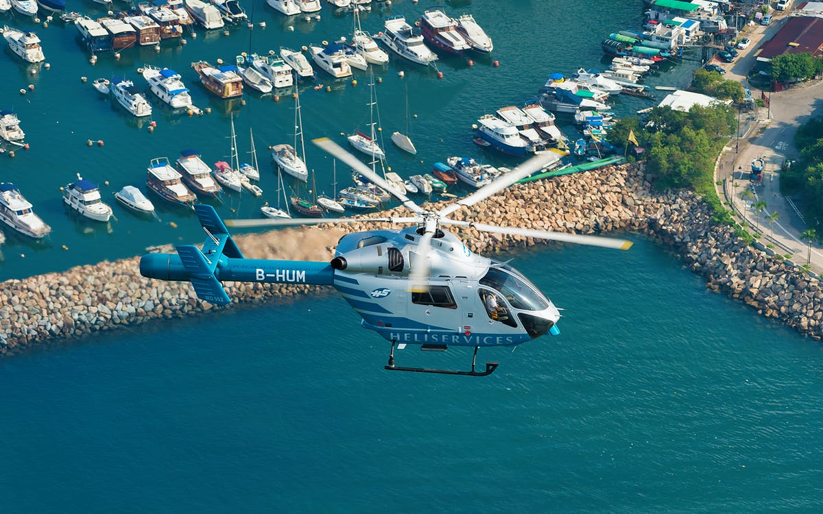 hong kong helicopter tours - 18 min-1