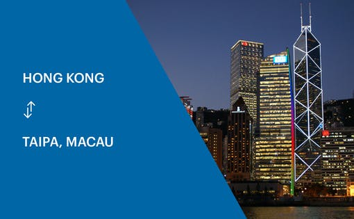 Cotai Ferry Transfers Between Hong Kong & Macau (Taipa)