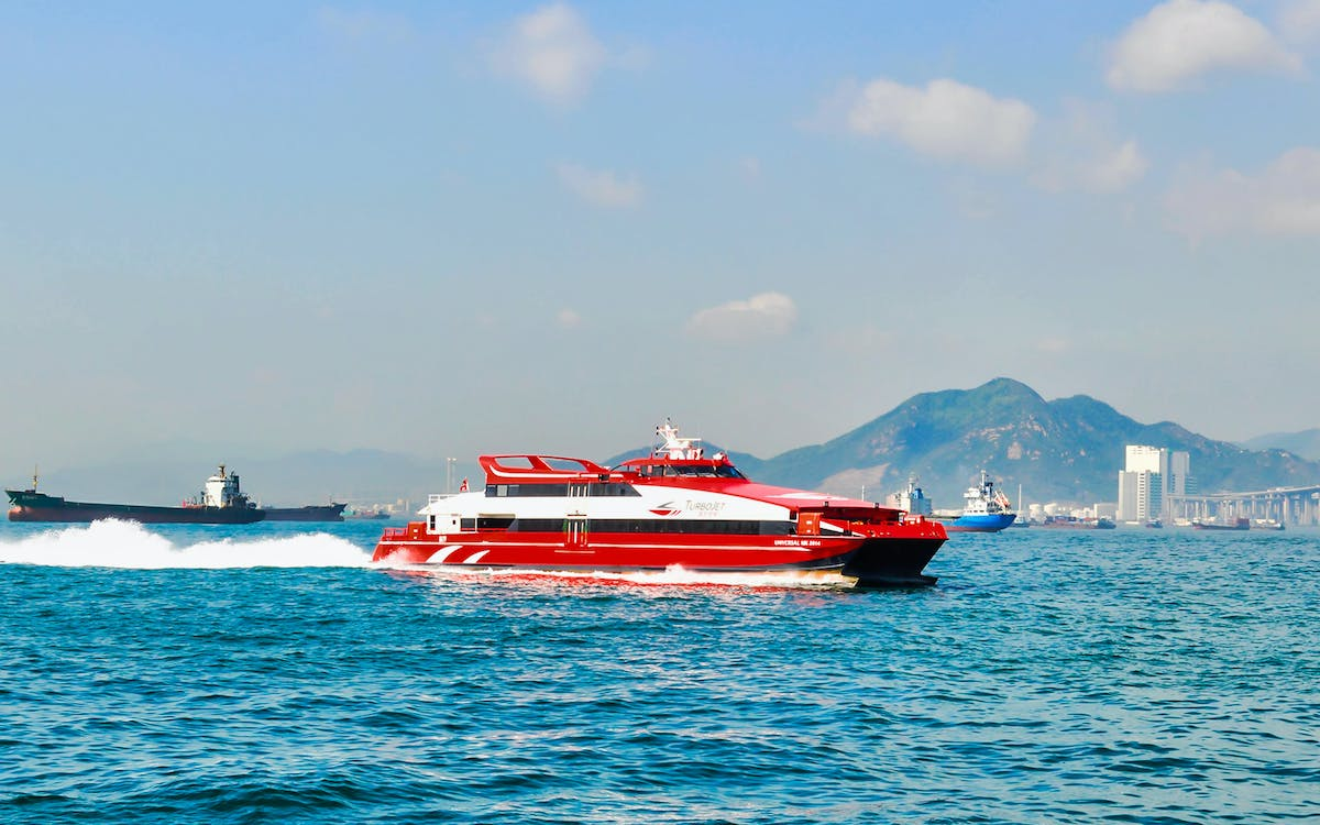 turbojet ferry transfers between kowloon & macau outer harbour-2