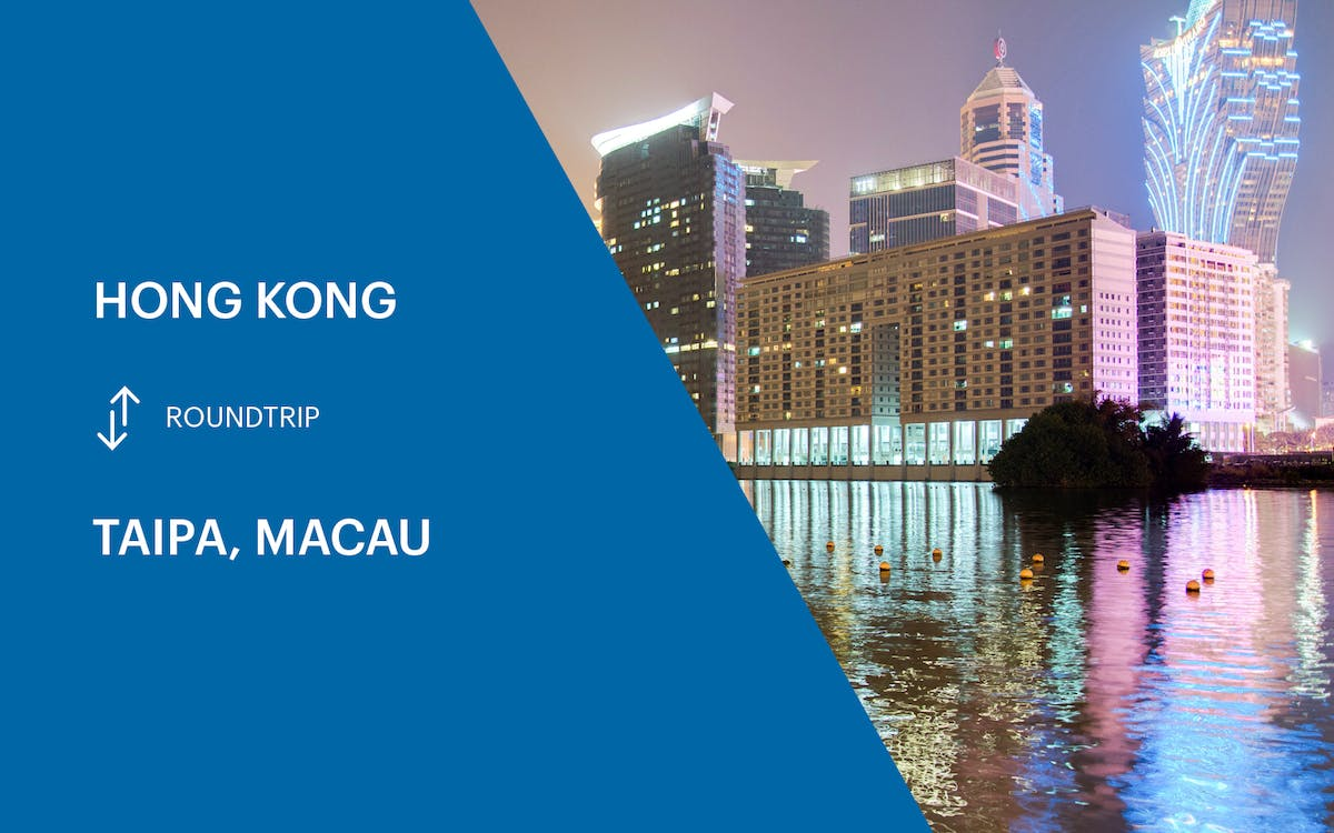 cotai ferry transfers from hong kong to macau (taipa) - round trip-1