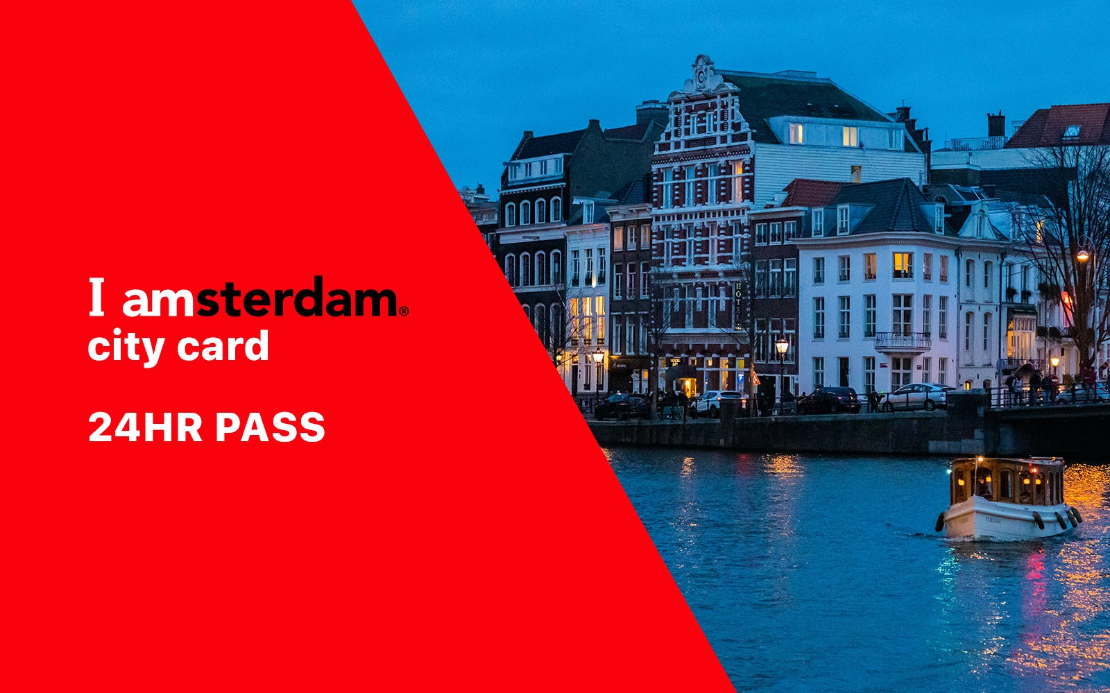 I Amsterdam City Card - 1 Day