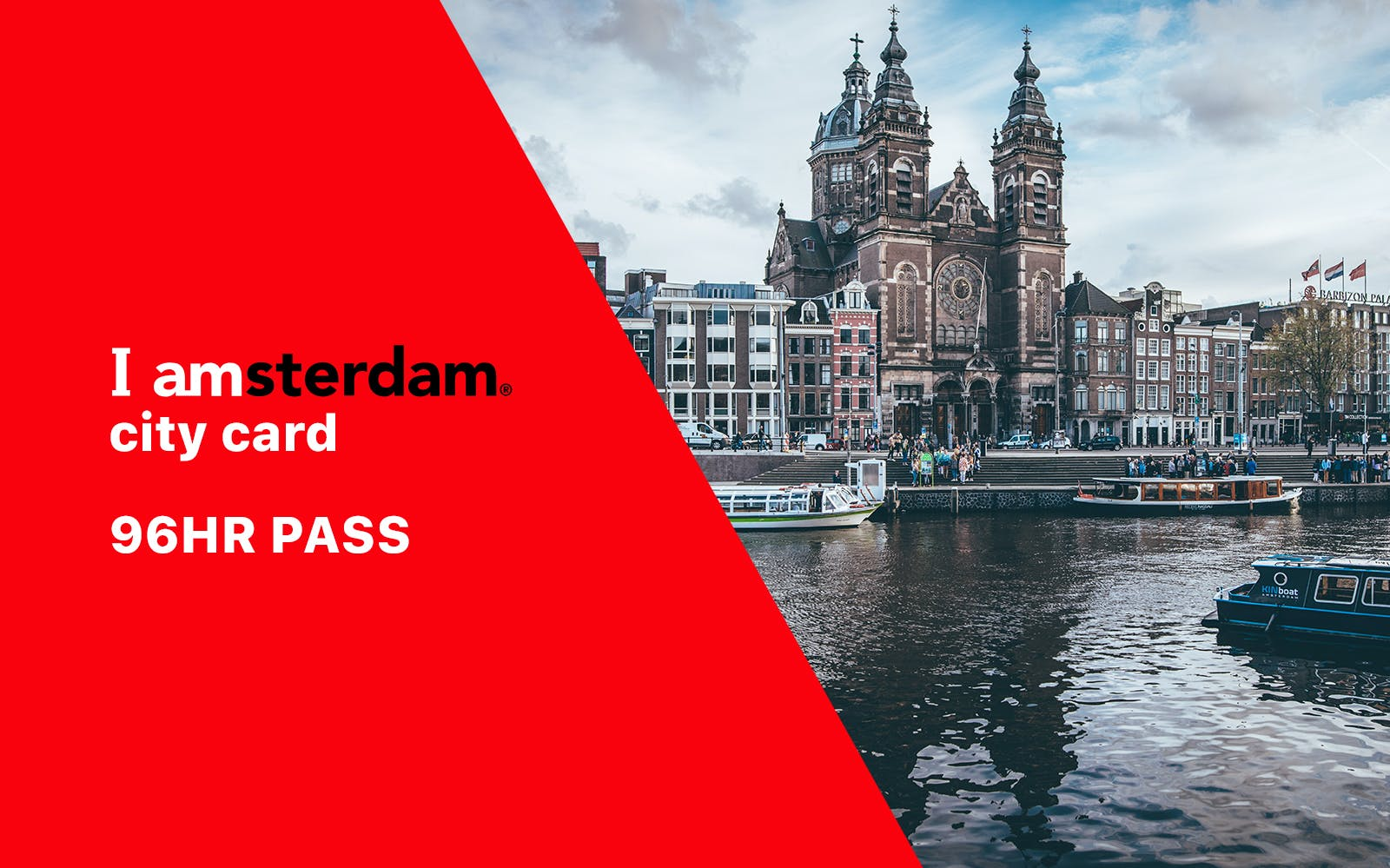 I Amsterdam City Card - 4 Day