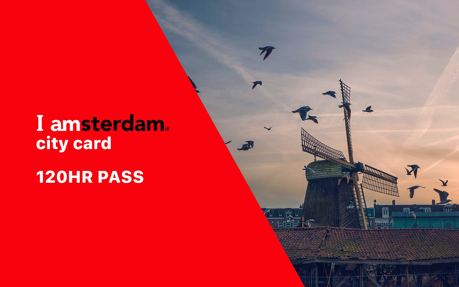 I Amsterdam City Card - 5 Day