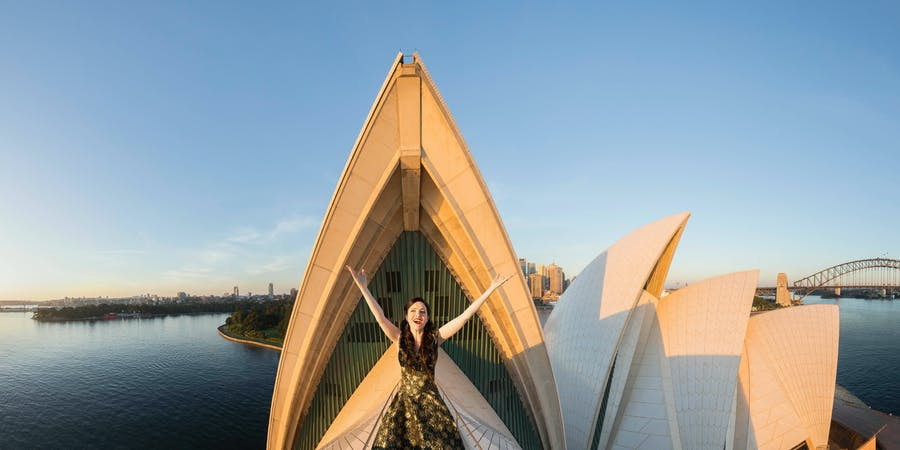 Sydney in March - Sydney Opera House Show