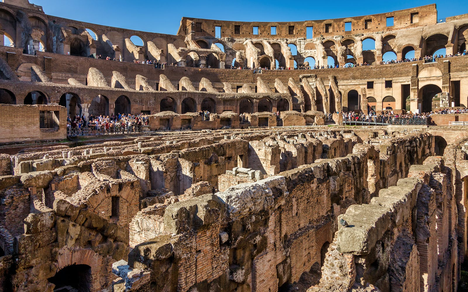 colosseum underground tour with arena floor & roman forum-3