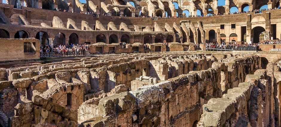 Colosseum Underground Tour with Arena Floor & Roman Forum
