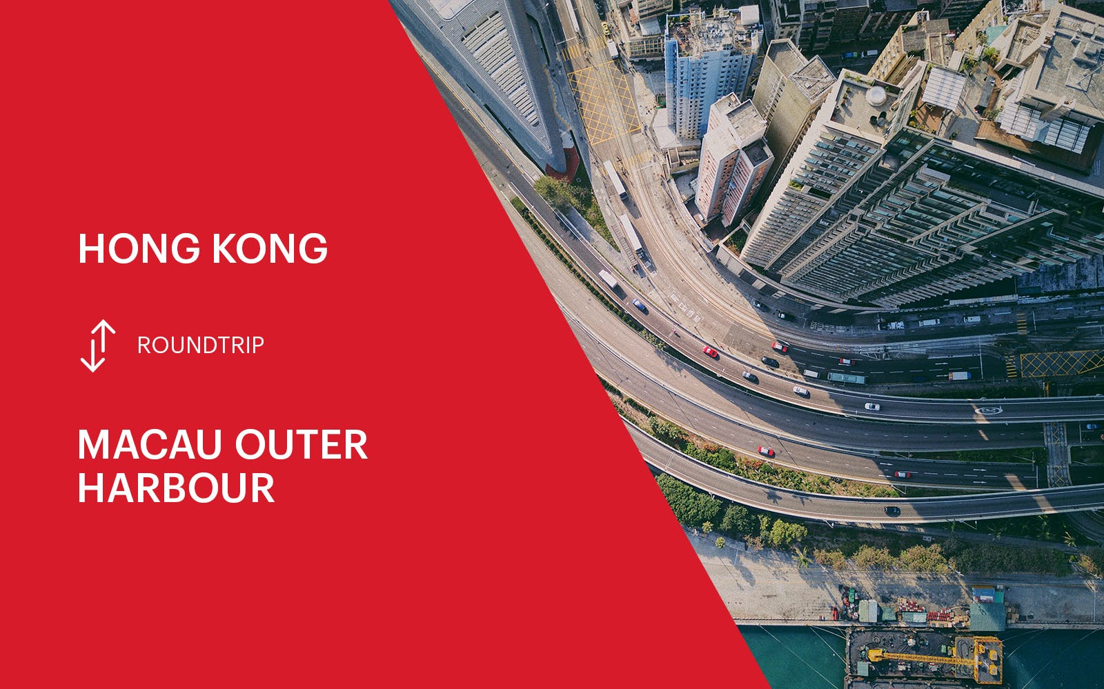 Turbojet Ferry Transfers Between HK & Macau Outer Harbour- Round Trip
